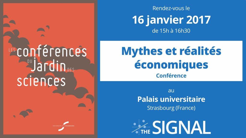 [Conférence] Mythes et réalités économiques