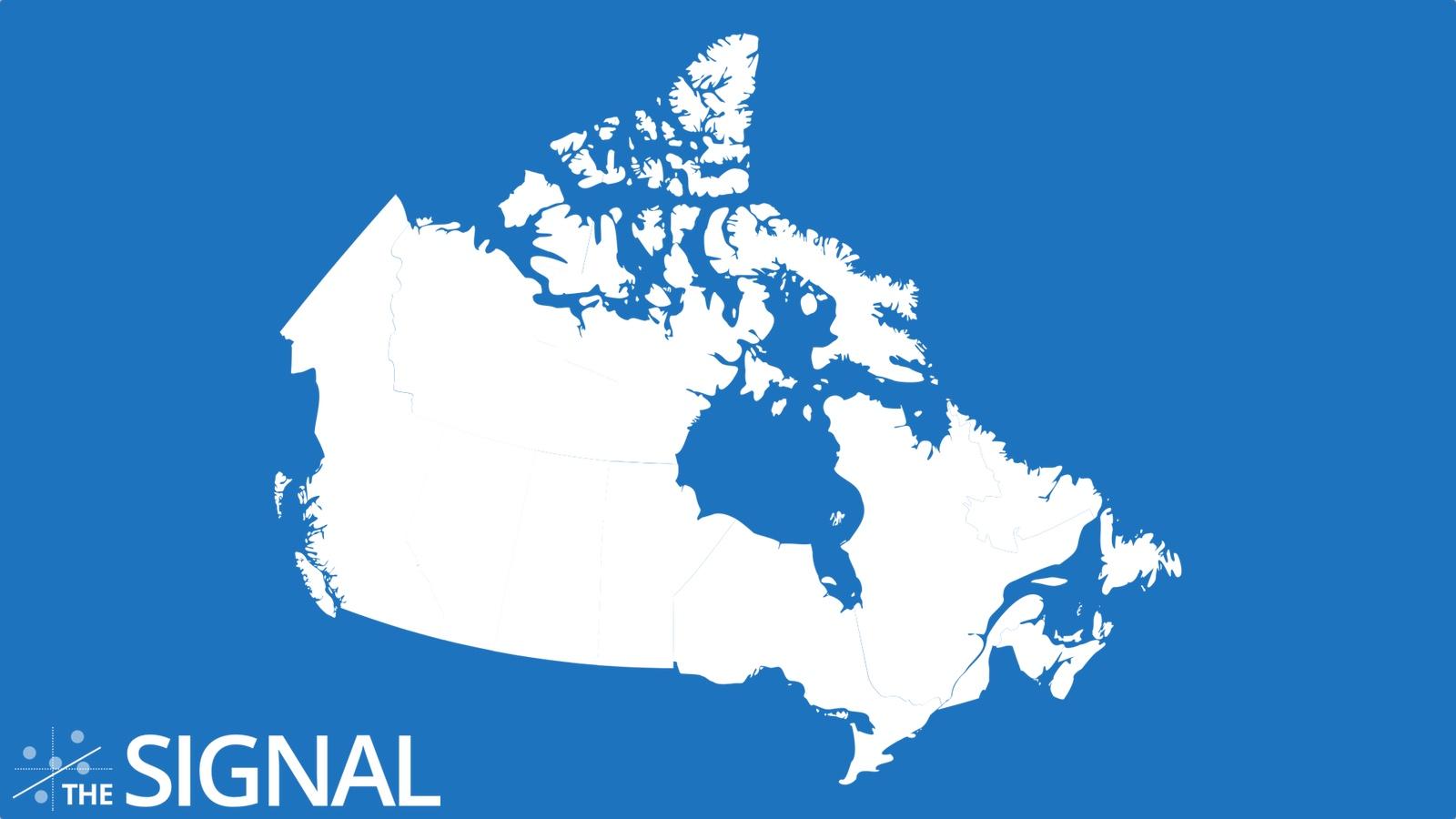 """Ceci n'est pas """"le Canada"""", ceci est un dessin dont nous disons qu'il représente le Canada"""
