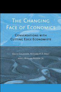 Couverture d'ouvrage : The Changing Face of Economics